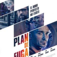 Cine: PLAN DE FUGA. GUIA ORIGINAL ESTRENO.. Lote 121740363