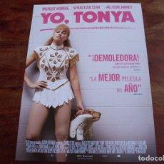 Cine: YO, TONYA - MARGOT ROBBIE, ALLISON JANNEY, SEBASTIAN STAN - GUIA ORIGINAL. Lote 176860902