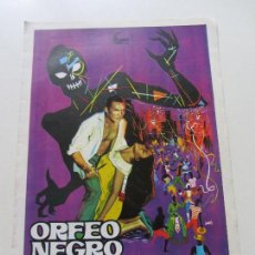 Cine: GUIA DOBLE ORFEO NEGRO SDX16. Lote 122671315