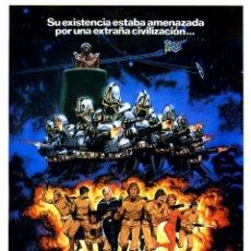 Cine: MISION GALACTICA CYLON ATACA (GUÍA ORIGINAL SIMPLE CON FOTOS ESTRENO EN ESPAÑA). Lote 179323565