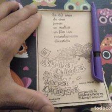 Cine: ANTIGUO RECORTE CINE MALLORCA AQUELLOS CHALADOS EN SUS LOCOS CACHARROS. Lote 124220871
