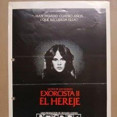 Cine: EXORCISTA II EL HEREJE - LINDA BLAIR, RICHARD BURTON, LOUISE FLETCHER -- GUIA WARNER AÑO 1977. Lote 124506947