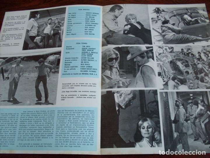 Cine: fuga suicida - charles bronson, robert duvall, jill ireland - guia original mundial 1975 - mac - Foto 2 - 206402565