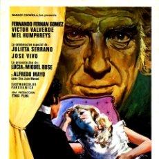 Cine: VERA UN CUENTO CRUEL (GUÍA ORIGINAL SIMPLE DE SU ESTRENO EN ESPAÑA) FERNANDO FERNAN GOMEZ. Lote 125426619
