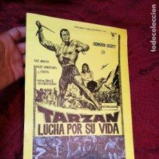 Cine: TARZAN LUCHA POR SU VIDA. GORDON SCOTT. AÑO 1977.GACETILLA UNIVERSAL FILMS ESPAÑOLA. Lote 126188167