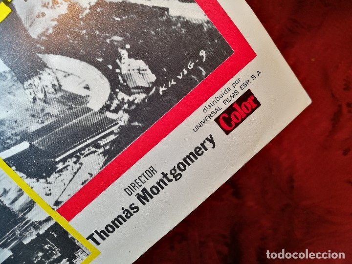 Cine: KING KONG CONTRA GODZILLA (GUIA ORIGINALSIMPLE) MICHAEL KEIT 1978.GACETILLA UNIVERSAL FILMS ESPAÑOLA - Foto 2 - 126188335