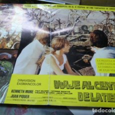 Cine: VIAJE AL CENTRO DE LA TIERRA -GUIA PUBLICITARIA . Lote 126325691
