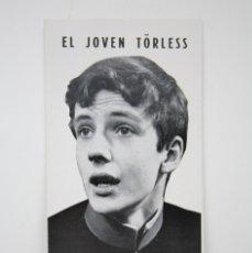 Cine: GUÍA PUBLICITARIA PUBLI-CINEMA - EL JOVEN TÖRLESS - CIDENSA / DANONE - AÑO 1967. Lote 126360779