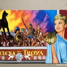 Cine: HELENA DE TROYA ROSSANA PODESTA GUIA PUBLICITARIA ORIGINAL ESTRENO FORMATO LUJO . Lote 126491419