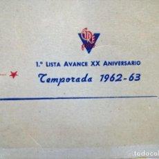 Cine: LISTA MATERIAL .CIRE 1962.LEY DE GUERRA,MINAS REY SALOMON,TARZAN JUSTICIERO,LA ALTERNATIVA. Lote 126673431