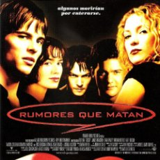 Cine: GUIA ORIGINAL SENCILLA (RUMORES QUE MATAN) JAMES MARSDEN. Lote 127663967