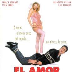 Cine: GUIA ORIGINAL DOBLE (EL AMOR APESTA) . Lote 127871855