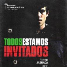 Cine: GUIA ORIGINAL DOBLE (TODOS ESTAMOS INVITADOS). Lote 127872027