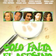Cine: GUIA ORIGINAL SENCILLA (SOLO FALTA EL ASESINO). Lote 127938703