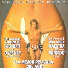Cine: GUIA ORIGINAL SENCILLA (EL ESCANDALO DE LARRY FLYNT). Lote 128270459