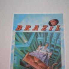 Cine: BRAZIL - GUIA PUBLICITARIA DE CINE 1985 // TERRY GUILLIAN MONTY PYTHON. Lote 128359243