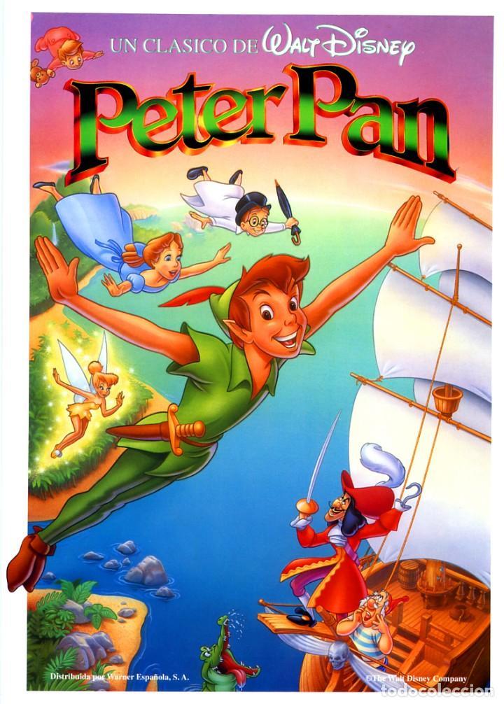 PETER PAN (GUÍA ORIGINAL SIMPLE CON FOTOS) WALT DISNEY (Cine - Guías Publicitarias de Películas )