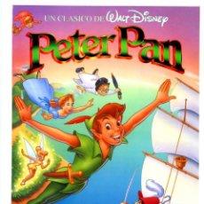 Cine: PETER PAN (GUÍA ORIGINAL SIMPLE CON FOTOS) WALT DISNEY. Lote 190000632