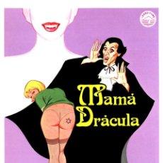 Cine: MAMÁ DRÁCULA (GUÍA ORIGINAL SIMPLE CON FOTOS DE SU ESTRENO EN ESPAÑA) . Lote 129064175