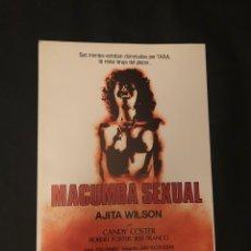 Cine: MACUMBA SEXUAL. GUÍA ORIGINAL DE LA PELÍCULA. JESS FRANCO. CLASIFICADA S.. Lote 129267370