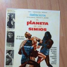 Cine: E--GUÍA DE LA PELÍCULA --EL PLANETA DE LOS SIMIOS. Lote 129635967