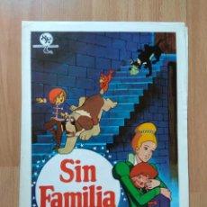 Cinéma: E--GUÍA DE LA PELÍCULA -- SIN FAMILIA. Lote 130342502