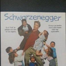 Cine: POLI DE GUARDERIA SCHWARZENEGGER. Lote 141527089