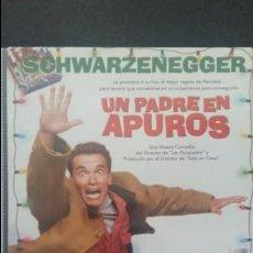 Cine: UN PADRE EN APUROS SCHWARZENEGGER. Lote 139908266