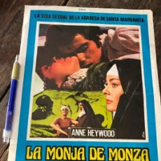 Cine: LA MONJA DE MONZA. Lote 130917172