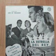 Cinéma: D-GUIA DE LA PELICULA- LA ESTRELLA DEL REY. Lote 133226710