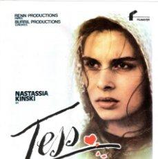 Cine: GUIA ORIGINAL SENCILLA (TESS). Lote 133753266