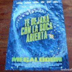 Cine: MEGALODON - JASON STATHAM, LI BINGBING, RAINN WILSON - GUIA ORIGINAL WARNER. Lote 194730857