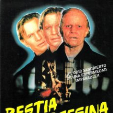 Cine: GUIA ORIGINAL SENCILLA (BESTIA ASESINA). Lote 134167994