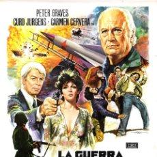 Cine: GUIA ORIGINAL SENCILLA (LA GUERRA DE LOS MISILES). Lote 134168074