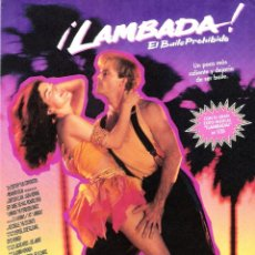 Cine: GUIA ORIGINAL SENCILLA (LAMBADA). Lote 134220862