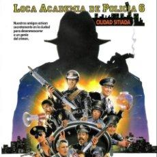 Cine: GUIA ORIGINAL SENCILLA (LOCA ACADEMIA DE POLCIA 6). Lote 134221050
