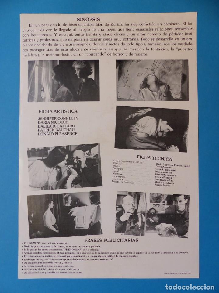 Cine: 18 GUIAS ANTIGUAS DE CINE DIFERENTES, SENCILLAS, DOBLES, TRIPTICAS, VER FOTOS ADICIONALES - Foto 50 - 135195550
