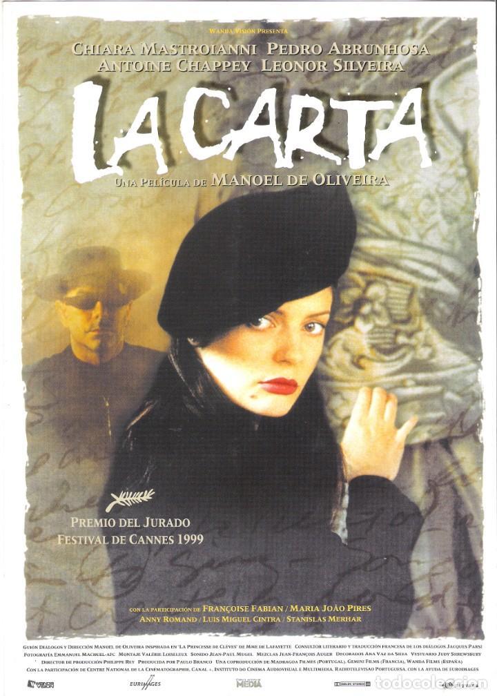 GUIA ORIGINAL SENCILLA (LA CARTA) (Cine - Guías Publicitarias de Películas )