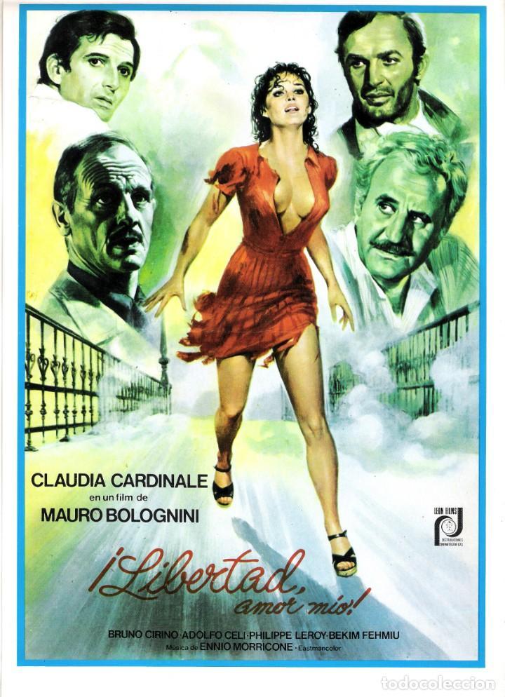 GUIA ORIGINAL SENCILLA (¡LIBERTAD AMOR MIO!) (Cine - Guías Publicitarias de Películas )
