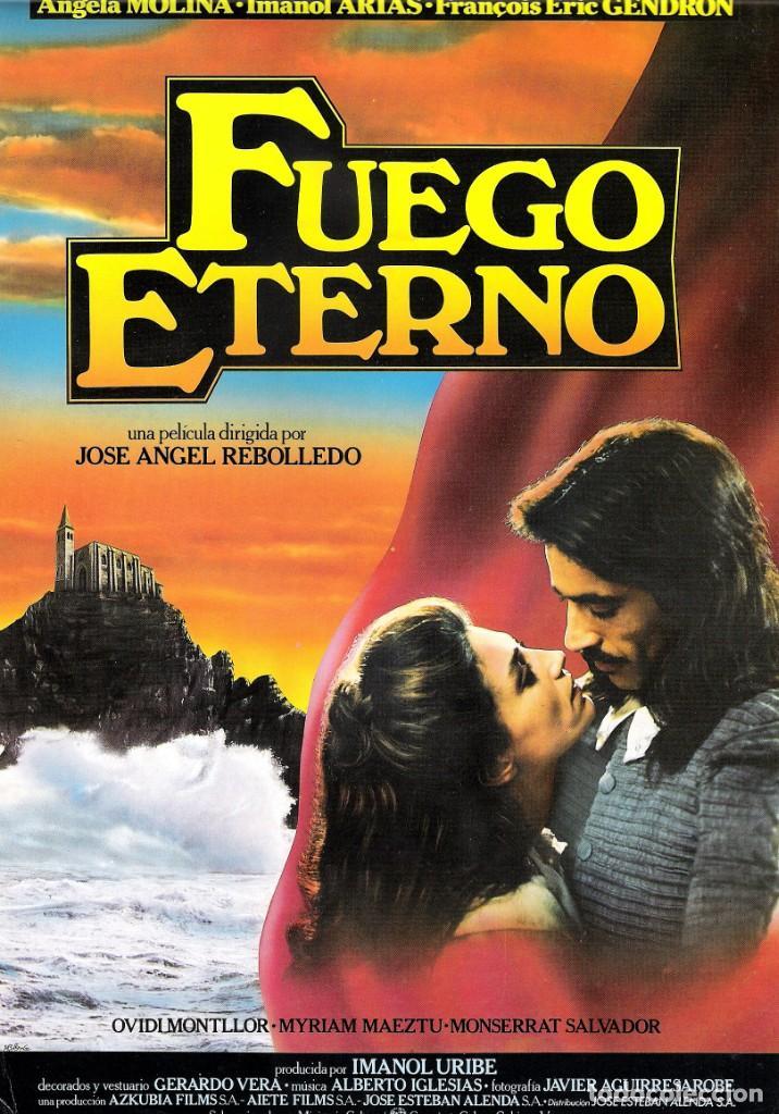GUIA ORIGINAL SENCILLA (FUEGO ETERNO) (Cine - Guías Publicitarias de Películas )