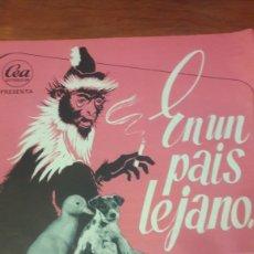 Cine: GUIA EN UN PAIS LEJANO DIREC JUAN TOURANE FERNANDO REY CEA DISTRIBUCION. Lote 136065756
