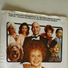 Cine: GUÍA ORIGINAL PELÍCULA: ANNIE. ALBERT FINNEY, CAROL BURNETT. DIR.JOHN HUSTON. COLUMBIA. AÑO 1982. Lote 136466082