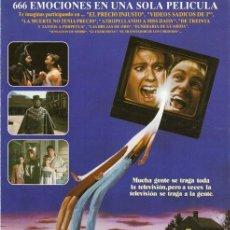 Cine: GUÍA PUBLICITARIA PELÍCULA PERMANEZCA EN SINTONÍA. Lote 137332138