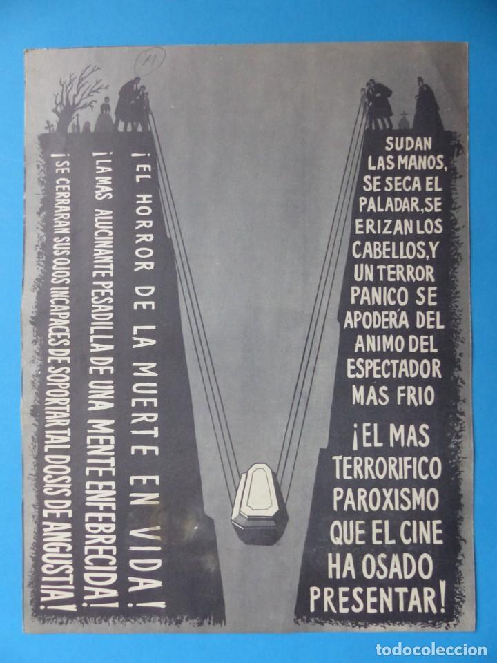 Cine: LA OBSESION - RAY MILLAND, HAZEL COURT - GUIA DOBLE DE TERROR - AÑO 1962 - Foto 2 - 137403114