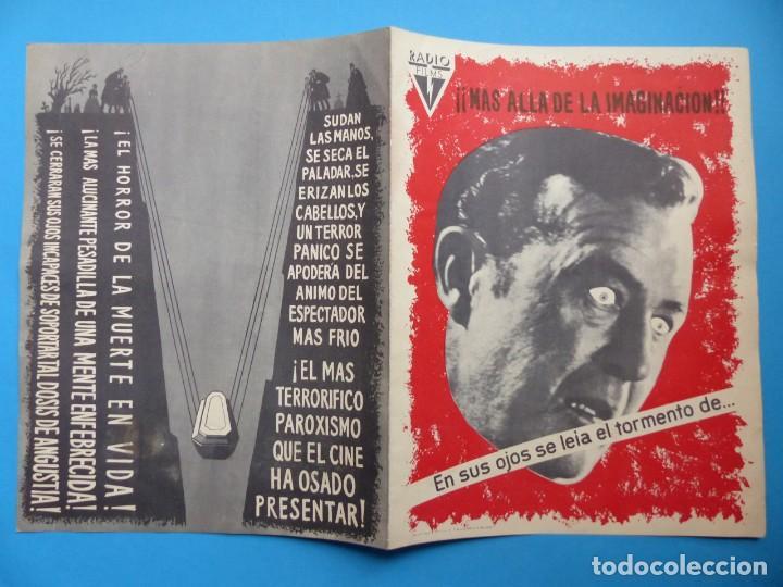 Cine: LA OBSESION - RAY MILLAND, HAZEL COURT - GUIA DOBLE DE TERROR - AÑO 1962 - Foto 3 - 137403114