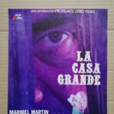 Cine: LA CASA GRANDE - ANTONIO FERRANDIS,MARIBEL MARTIN,JUAN DIEGO. Lote 137828722