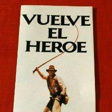 Cine: INDIANA JONES Y EL TEMPLO MALDITO (FILM 1984) GUIA PUBLICITARIA - DIR. SPIELBERG -HARRISON FORD. Lote 138527286
