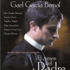 Cine: GUIA ORIGINAL SENCILLA (EL CRIMEN DEL PADRE AMARO). Lote 139391502