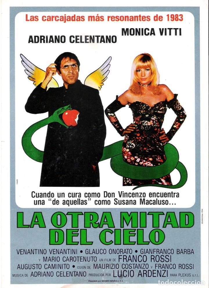 GUIA ORIGINAL SENCILLA (LA OTRA MITAD DEL CIELO) (Cine - Guías Publicitarias de Películas )