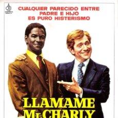 Cine: GUIA ORIGINAL DOBLE (LLAMAME MR.CHARLY). Lote 139391794